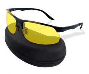 HD Night Vision Driving Glasses for for Men Women - Polarized Safety Glasses for Outdoor Activities
