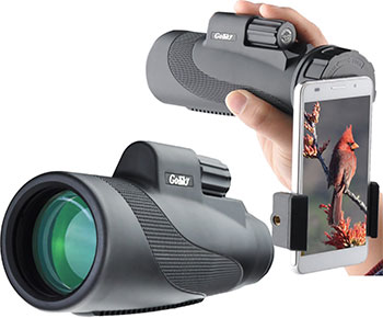 Gosky-Titan-12X50-High-Power-Prism-Monocular-and-Quick-Smartphone-Holder