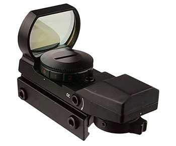 Tactical-Green-and-Red-Dot-Sight---4-Reticles-Reflex-Sight