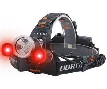 BORUIT LED Headlamp - Ultra Bright